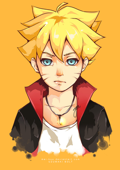 Uzumaki Bolt by mai-kuu