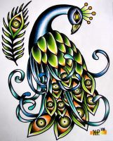 Peacock by rebelinfant