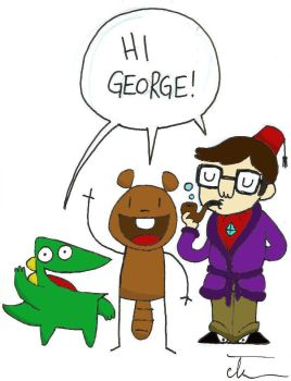 Beaver and Steve step 1 by Georgeshiers