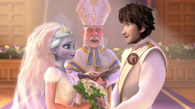 Hiccelsa wedding by ZoeDisney22
