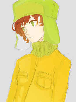 South Park : Kyle Broflovski by Kite-Mitiko