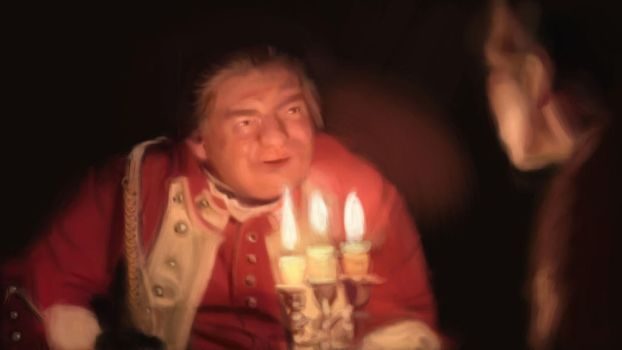 Barry Lyndon 1-digital painting exercise by A-Border