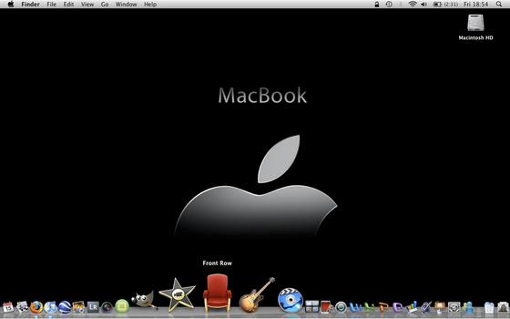 Mac OS X Desktop by AndrewToPhotography