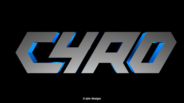 CYRO 3D Logo by ojim-Designs
