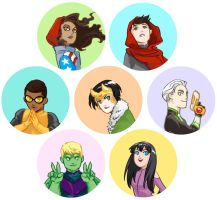 Young Avengers by beanclam