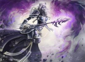 Priestess of the nether by Angevere