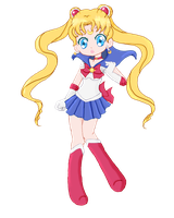 Chibi Sailor Moon by LLAP