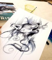 Ink Wash by Lucky978