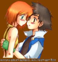 Ash and Misty..... by baby-ikki