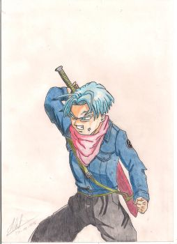Future Trunks Dragon Ball Super by Husky112