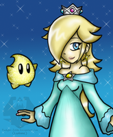 Rosalina - b-day gift by Luifex