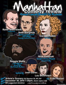 Manhattan Comedy Review 3 by theangrybuddha