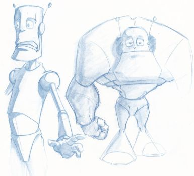 Robots In Development by Thielman-The-Grey