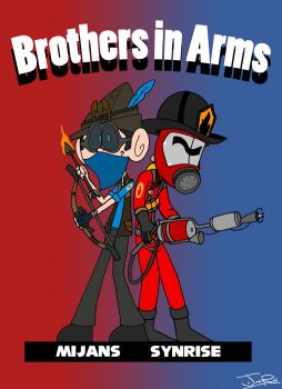 Commission: Brothers in Arms by Peskyplumber64