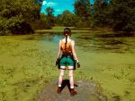 Lara Croft - near the swamp by TanyaCroft