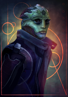Thane Krios by Wolnir