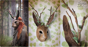Jackalope Mask by Nymla