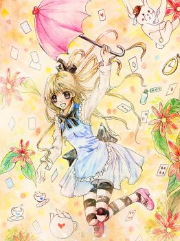 Alice says Spring is Here by yes-what