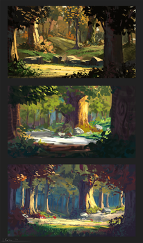 Forest Roughs by k04sk