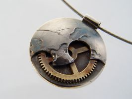 That's No Moon pendant by deaddamien