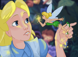 Alice and Tink: Indilwen-Glor by iesnoth