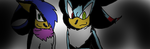 Request: Vonnes and Madow by MadowtheDarkhedgehog