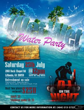 Wet Wet Water Party by D-Dolphy