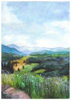 Summer day by Paintwick