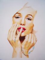 Marylin.Monroe.WIP.2.0 by iViziDiManola