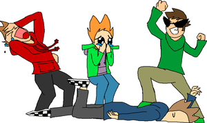 Draw The Squad {Eddsworld} by 23tails