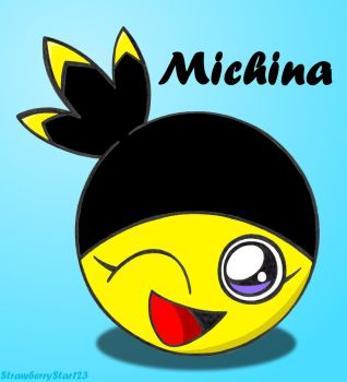 LocoRoco OC - Michina by StrawberryStar123
