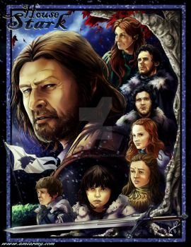 House Stark by Amelie-ami-chan