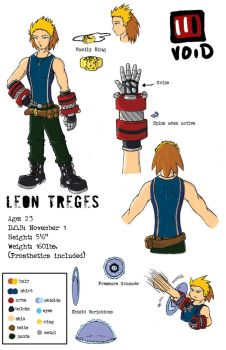 Leon Treges by reef