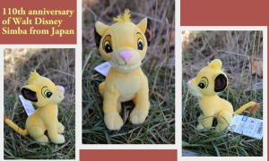 110th anniversary of Walt Disney Simba from Japan by Laurel-Lion