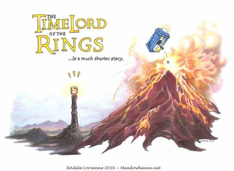 TimeLord of the Rings by Saimain