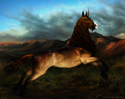 The Southern Steppes by Kotorigaro