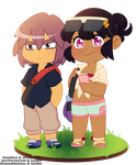 [Invertshipping] Greetings from Alola by Amadere