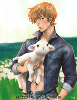 Mark Had A Little Lamb by sukinahito