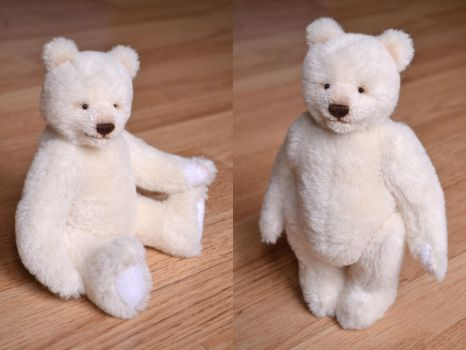 Lyle the White Bear by Je-Suis-Lugly