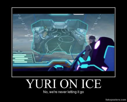 VLD Demotivational Poster: Coran's YOI episode by n-trace