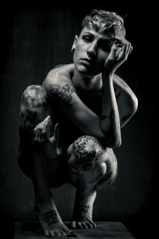 Ink Sculpture by QNetX