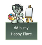 dA is my Happy Place by Loulou13