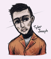 doodle of tyler joseph by tofupeachy