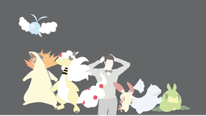 Blaine Anderson's Pokemon Team by Blugo34
