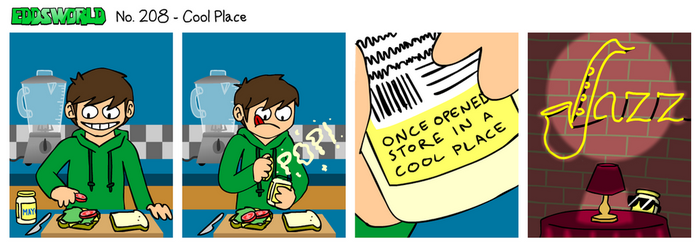EWCOMIC No. 208 - Cool Place by eddsworld