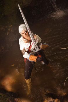 Ciri Cosplay ~Preview by HaruLittner
