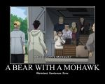 FMA Demot: A Bear with a Mohawk by Angel-of-Alchemy-42