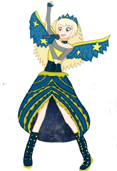 MRA Chara star queen coord by Chara2194