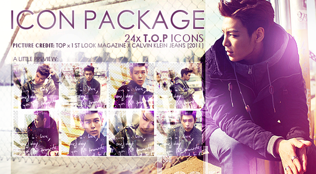 24x T.O.P (BigBang) Icon Package by r-adiant
