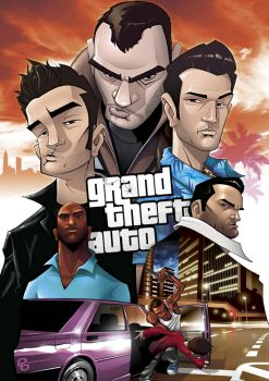 Grand Theft Auto LEGENDS by PatrickBrown